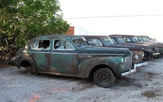 Classic car collection discovered after 61 years