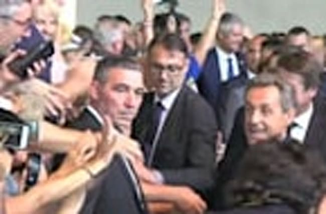 Tough talk from France's Sarkozy