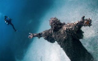 Video of the day: Underwater statue of Christ in Malta