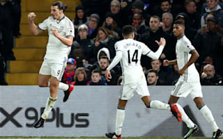 Crystal Palace 1 Manchester United 2: Ibrahimovic grabs dramatic late winner