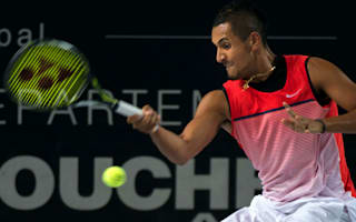 Classy Kyrgios sets up Cilic final in Marseille