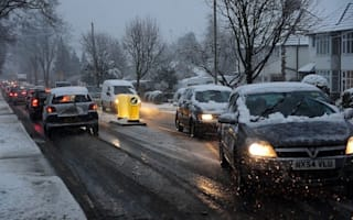 Freezing weather causes nine per cent surge in accidents