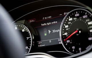 Audi smoothing the way at traffic lights