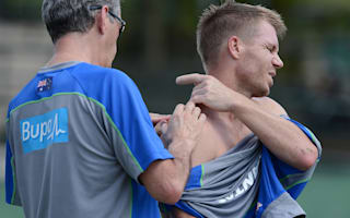 Warner out of Australia tour match
