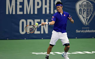 Nishikori on track for Memphis Open defence