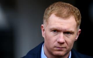 No Van Gaal agenda, says Scholes