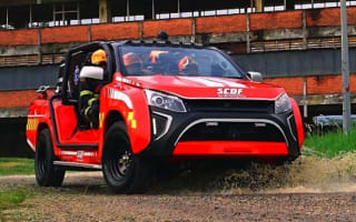 Amazing new Singpore fire truck revealed