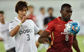 AFC Champions League Review: Pohang steel draw at holders Evergrande