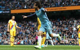 Manchester City 5 Crystal Palace 0: Five-star showing as Pep's men totally dominant