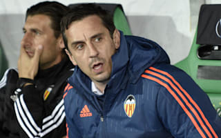 Neville praises UEFA officials response to offensive Rapid banners
