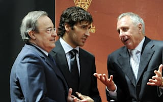 Madrid president Perez joins tributes to Barca great Cruyff