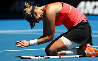 Lucic-Baroni feared she wouldn't finish quarter-final