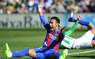 Luis Enrique slams 'media campaigns' after Neymar question