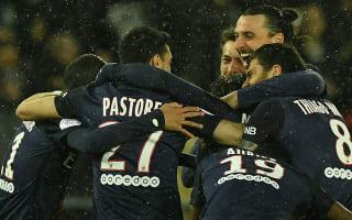 Paris Saint-Germain 4 Rennes 0: Blanc's men equal Ligue 1 points record