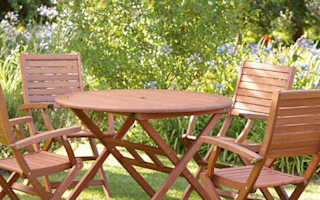 Gorgeous garden furniture on a budget