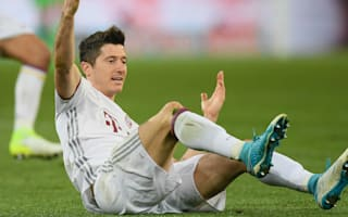 Everything is fine - Bayern star Lewandowski plays down pre-Dortmund injury fright