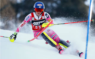 Shiffrin's winning streak ends in Zagreb