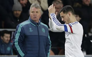 Hiddink: Hazard must play like an amateur to match Messi and Ronaldo