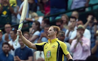 Smith hits record-breaking 164, puts it down to 'luck'