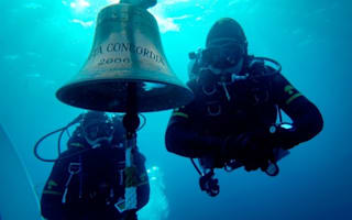 Who stole the 'iconic' Costa Concordia bell?