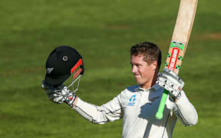 Nicholls relieved to finally reach maiden hundred