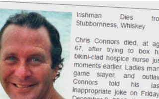 Daughter writes hilarious obituary to honour 'Game Slayer' and 'Outlaw' Dad
