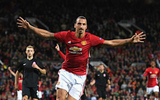 Manchester United 1 Zorya 0: Ibrahimovic header earns Mourinho's men narrow win