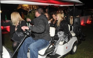 Coolest hen do ever? Kate Moss parties at Isle of Wight Festival