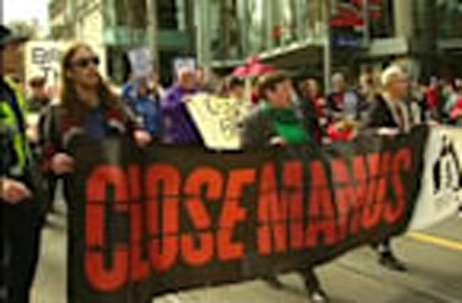 Australian protesters march to close detention camps