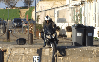Video: When road testing goes wrong. Very wrong...