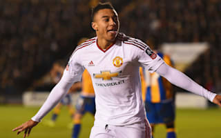 Shrewsbury Town 0 Manchester United 3: Routine win eases pressure on Van Gaal