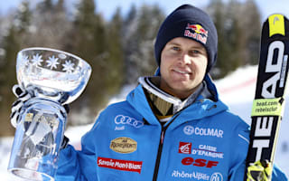 Pinturault keeps giant slalom hopes alive in Kranjska Gora