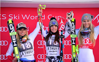 Weirather beats Gut and Vonn to super-G glory in La Thuile