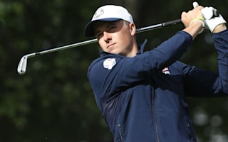Spieth all business at Ryder Cup