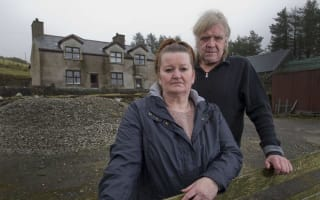 Couple forced to leave family farm by sky-high interest on debts