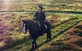 Tantalising glimpse of Aidan Turner during filming of Poldark Series 3