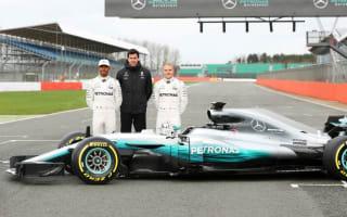 Mercedes unveil W08 at Silverstone