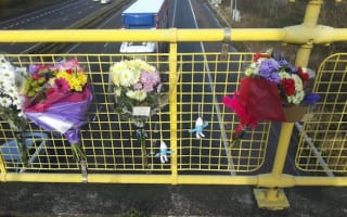Driver arrested over hit-and-run incident after teenager fell from bridge onto M6