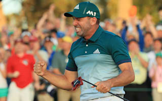 Garcia wants to share champions' locker with Olazabal