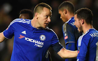 Departing Terry pleased to see Hazard back on scoresheet