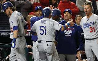 Dodgers overcome Nationals in game five