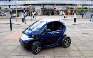 Driverless cars tested on UK roads