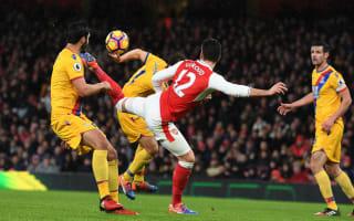 Giroud's scorpion kick was luck, not skill - Koscielny