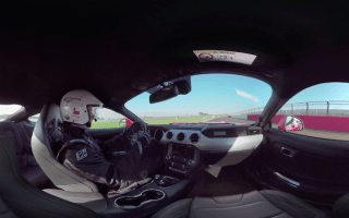 Experience the new Ford Mustang in action at Silverstone
