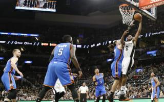 Spurs end slump, Raptors win in OT