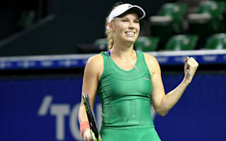 Wozniacki ends Radwanska's reign in Tokyo