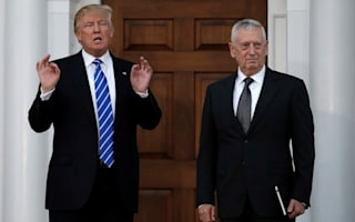 Trump has nominated controversial general 'Mad Dog' Mattis to be his defence secretary