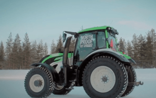 Rally driver sets new tractor world speed record