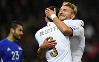 Liechtenstein 0 Italy 4: Belotti at the double as visitors keep pace with Spain
