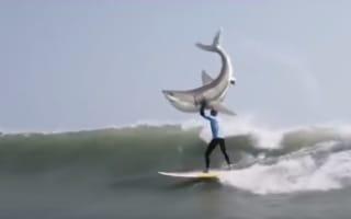 KFC runs parody advert of Mick Fanning shark attack